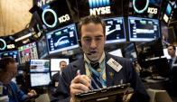 Desde comienzos de año hubo volatilidades en los principales mercados. Foto: AFP