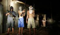 Armas uruguayas terminan en manos de bandas organizadas. Foto: AFP