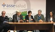 Ministro del Interior, Eduardo Bonomi, en conferencia de prensa. Foto: Nicolás González