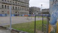 La IMM gestionará la Plaza N° 1 que está vandalizada. Foto: A. Colmegna