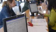 Se apuesta a hacer las declaraciones juradas con el formulario disponible en la web. Foto: Archivo