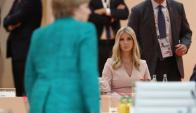 Ivanka Trump participa de la cumbre del G20. Foto: EFE