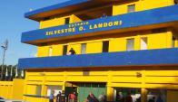El próximo año mejorarán el estadio Silvestre Landoni de Durazno. Foto: Víctor Rodríguez