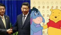 Xi Jinping es comparado con el famoso oso. Foto: Emol   GDA