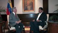 El presidente cambió de postura sobre el gobierno de Nicolás Maduro. Foto: AFP