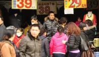 Los datos de la economía de China pautan los mercados globales. Foto: AFP