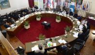 Planteo: intendentes pretenden más recursos y políticas regionales. Foto: G. Pérez