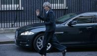 La primera ministra británica fijó doce prioridades en el proceso de salida del Reino Unido. Foto: AFP