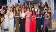 Serán 25 las jóvenes que participarán. Foto: Difusión / Reina del Lago