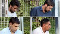 Los cuatro detenidos por el atentado de Barcelona declaran ante la Justicia. Fotos: Efe.