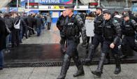 En la Copa del Rey trabajarán más de 2500 efectivos de las Fuerzas de Seguridad. Foto: EFE