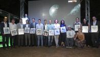 Los deportistas fueron homenajeados con una tapa conmemorativa de Ovación.