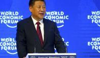 XI: si discurso fue visto como el que haría un presidente de EE.UU. Foto: Reuters