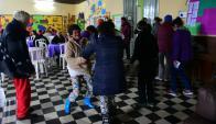 Talleres. En Ituzaingó, cerca de 100 personas participan de actividades de Rehabilitación Basada en la Comunidad. Foto: M. Bonjour.