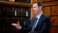Sarín. Bashar Asad es el principal acusado por el ataque. Foto: AFP