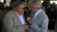 Las relaciones entre Vázquez y Mujica atraviesan por un muy buen momento. Foto: A. Colmegna