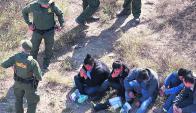 El proyecto de Trump es complementario de las medidas contra los ilegales. Foto: AFP