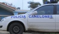 Patrullero de la Policía de Canelones. Foto: Archivo El País