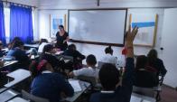 El centro educativo tiene 400 alumnos en total. Foto: Francisco Flores