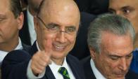 Henrique Meirelles, nuevo ministro de Hacienda de Brasil. Foto: AFP.