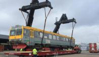 Los trenes provienen de Suecia. Foto: AFE.