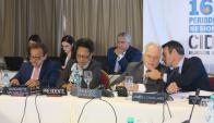 Falta: Uruguay no concurrió a la reunión de CIDH en Argentina.Foto: EFE