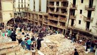 Pie de fotoAMIA: el atentado en 1994 causó 85 muertos en Buenos Aires. Foto: archivo El País