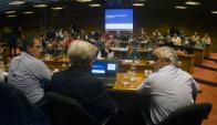 Senadores y diputados escucharon del MEF principales contenidos de la Rendición. Foto: F. Ponzetto