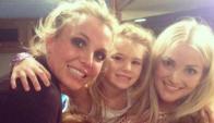 Britney Spears y su sobrina, Maddie
