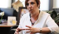 Susana Muñiz, presidenta de ASSE. Foto: L. Mainé