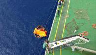 Suspendieron búsqueda del carguero Setellar Daisy. Foto: Archivo Armada Nacional