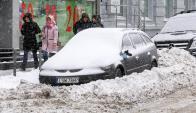 Ola de frío en Europa dejó decenas de muertos. Foto: EFE