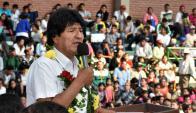 Evo Morales, presidente de Bolivia. Foto: Efe.