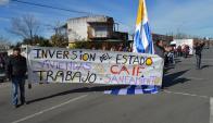 Vecinos reclamaron por vivienda, saneamiento y centros Caif. Foto: Daniel Rojas