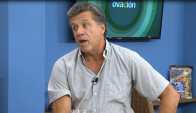 Fernando Alvez visitó Ovación TV. Foto: Captura de Video