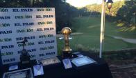 """La entrega de premios al """"Rey de América"""" se realiza en el Club del Lago. Foto: @Ovación"""