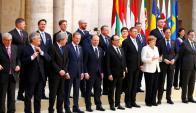 Encuentro de líderes de la UE en Roma para conmemorar los 60 años del organismo. Foto: Reuters.