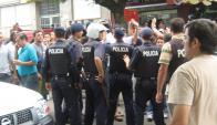 La Policía detuvo a tres brasileños familiares de uno de los asaltantes. Foto: Archivo