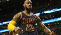 LeBron James superó una marca legendaria de Michael Jordan. Foto: AFP