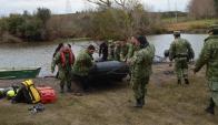 Encontraron al joven que había desaparecido en el río Uruguay. Foto: Daniel Rojas