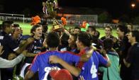 Canelones. El campeón del Sur visita el estadio de Pando. Foto: Fútbol Florida
