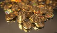 El Bitcoin se vende a $ 9.730,24, se carcteriza por su volatilidad. Foto: Archivo