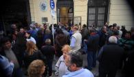 Los funcionarios judiciales amenazan con obstaculizar el inicio del CPP. Foto: F. Ponzetto