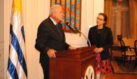Alcalde de Miami Tomás Regalado, Embajador de Estados Unidos Kelly Keiderling.