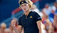 Alexander Zverev venció a Roger Federer y se coronó. Foto: EFE