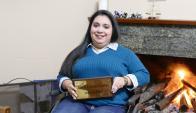 """Nicole describió como """"emocionante"""" el día en que juró y se recibió. Foto: R. Figueredo"""