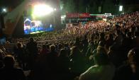 Carnaval: el Teatro de Verano sufrió cancelaciones por alertas climáticas. Foto: archivo El País
