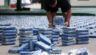 La ONU destaca como positivo un alza en las incautaciones. Foto: AFP