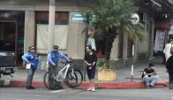 Inspectores de Rivera se llevaron los vehículos tras varias denuncias. Foto: Max Decima