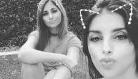 Antonella Roccuzzo y Daniela Semaan